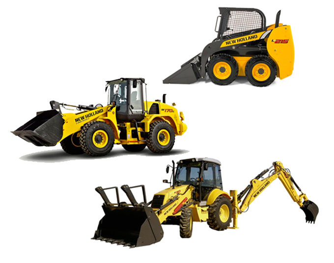 Range of New Holland Construction Equipment |  DLM Machinery